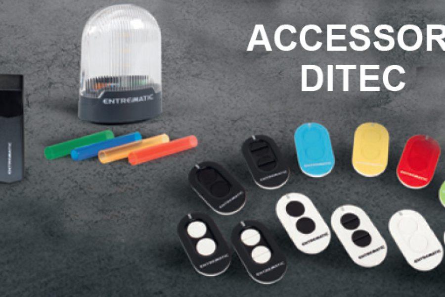 Nuovi Accessori Ditec Entrematic